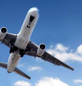 Prendre une route aérienne très fréquentée