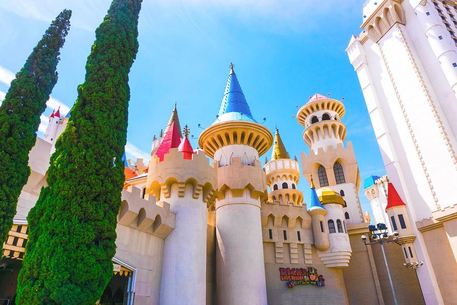 Las Vegas pour flamber un peu à l'Escalibur