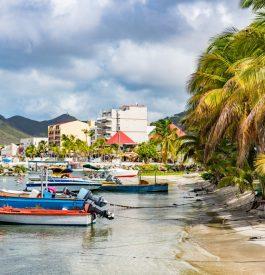 Rejoindre Saint Martin dans les Caraïbes