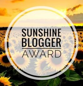 S'associer au Sunshine Blogger Awards