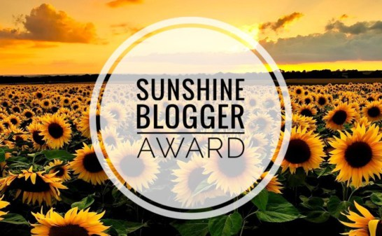The Sunshine Blogger Awards