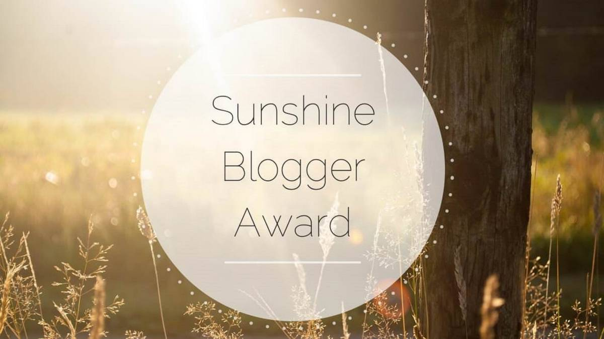 The Sunshine Blogger Awards