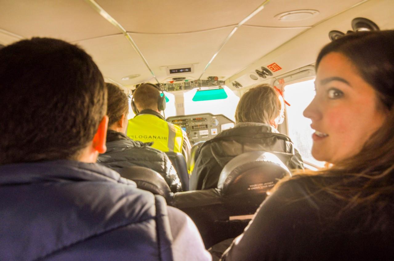 Un vol avec la compagnie Logan vous permettra de rejoindre ce bout du monde en Écosse
