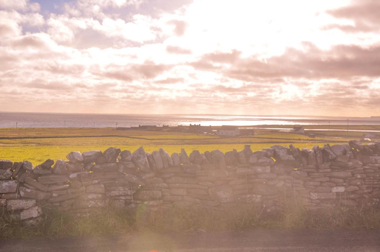 Paysages sublimes à Papa Westray en Écosse