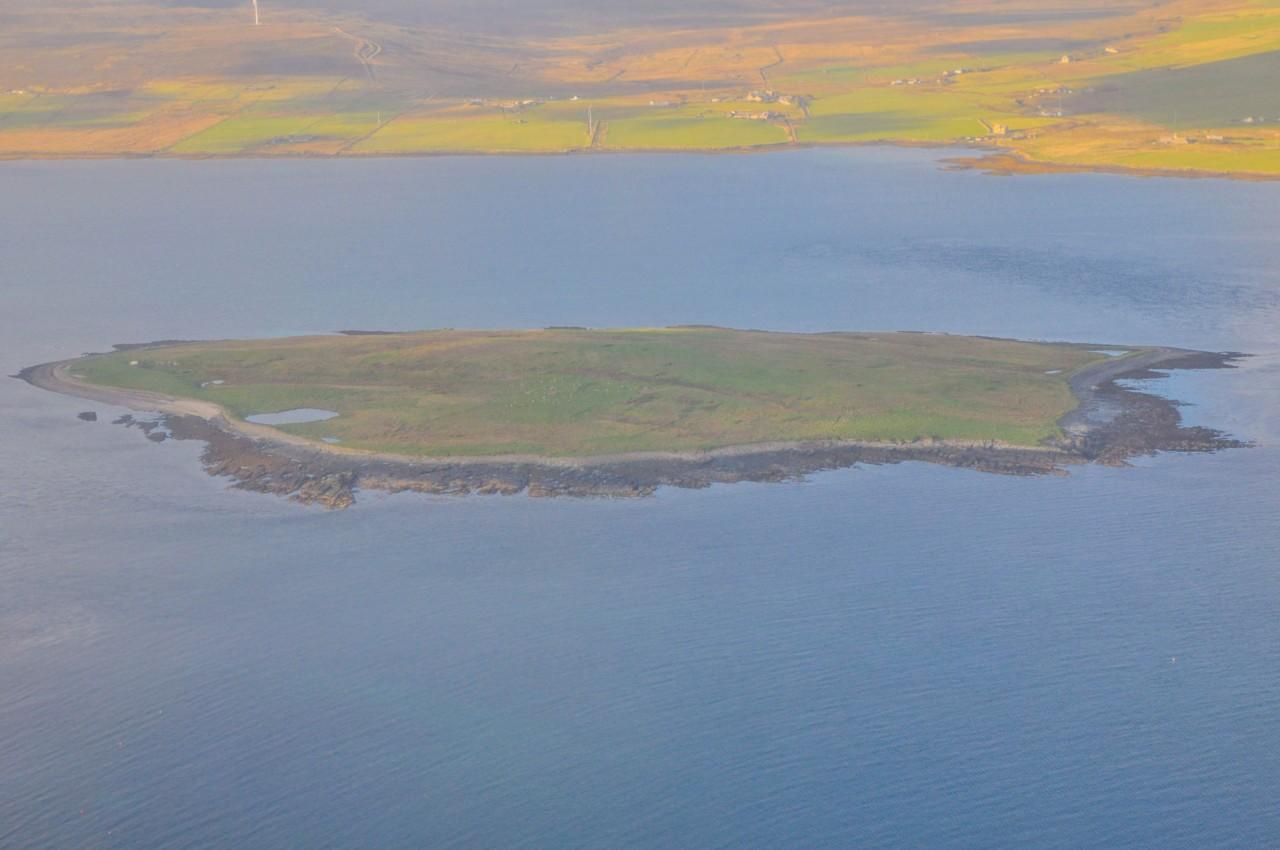 Survoler les Orkney en écosse