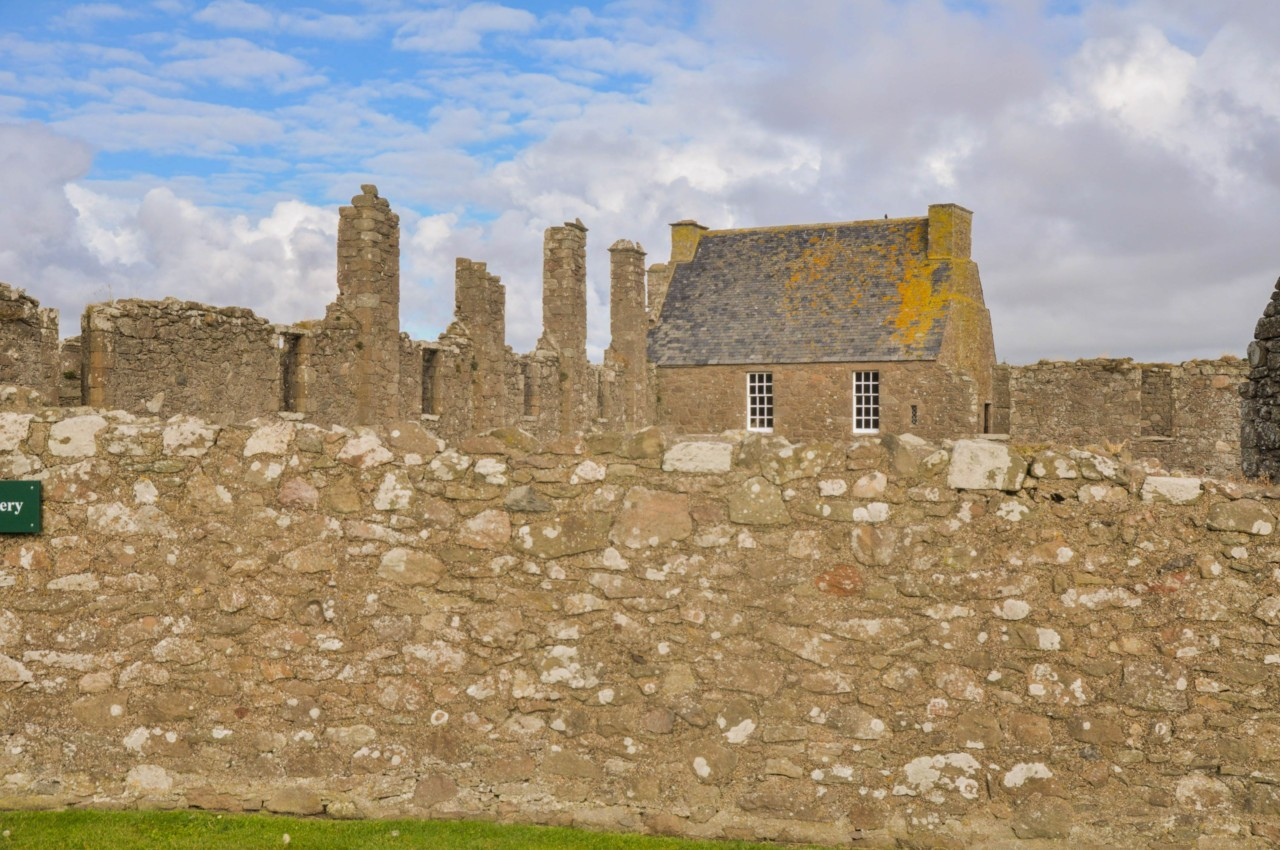 Les restes du Dunnnotar Castle sont bien conservées.