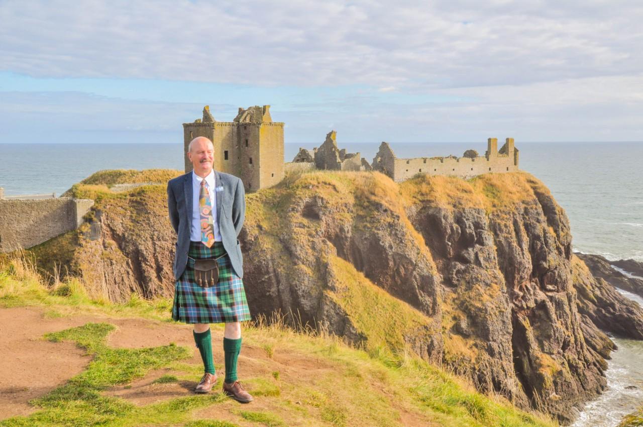Notre guide qui nous a fait découvrir Dunnotar Castle