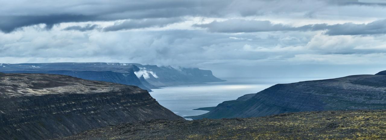 Vers les fjords de L'Islande