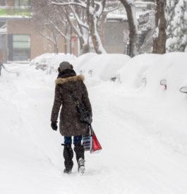 Dans les rues de Montréal