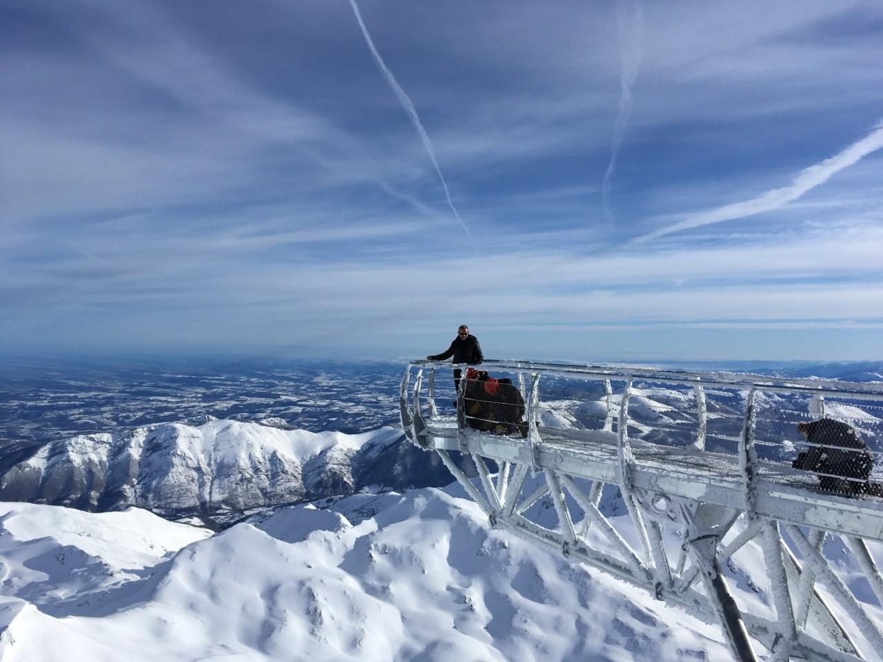 Le pic du Midi offre un point de vue remarquable