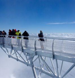 Passerelle vertige au Pic du Midi