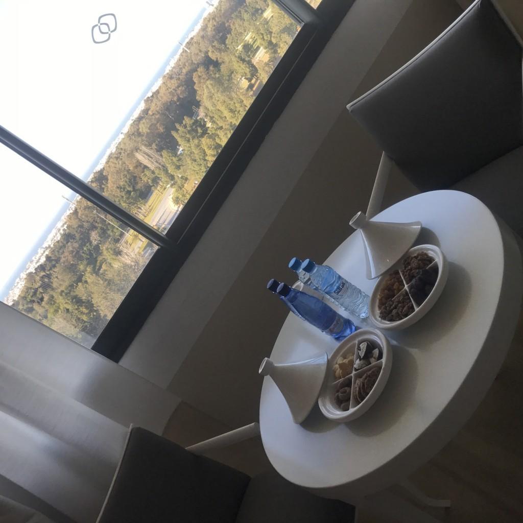 Petit déjeuner à Rabat au Sofitel DP : Élodie Pages