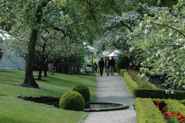 Balade à la fête des plantes aux jardins d'Aywiers, en Belgique