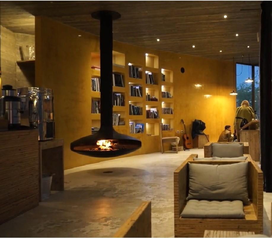 A l'intérieur de l'hôtel Rio do Prado au Portugal