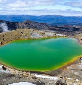 Parc national du Tongariro en Nouvelle Zélande