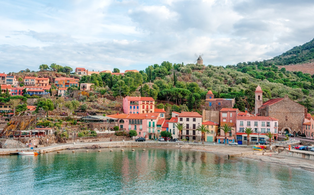 Collioure, France. French regions Languedoc-Roussillon and Midi-Pyrnes.CP : tacfoto