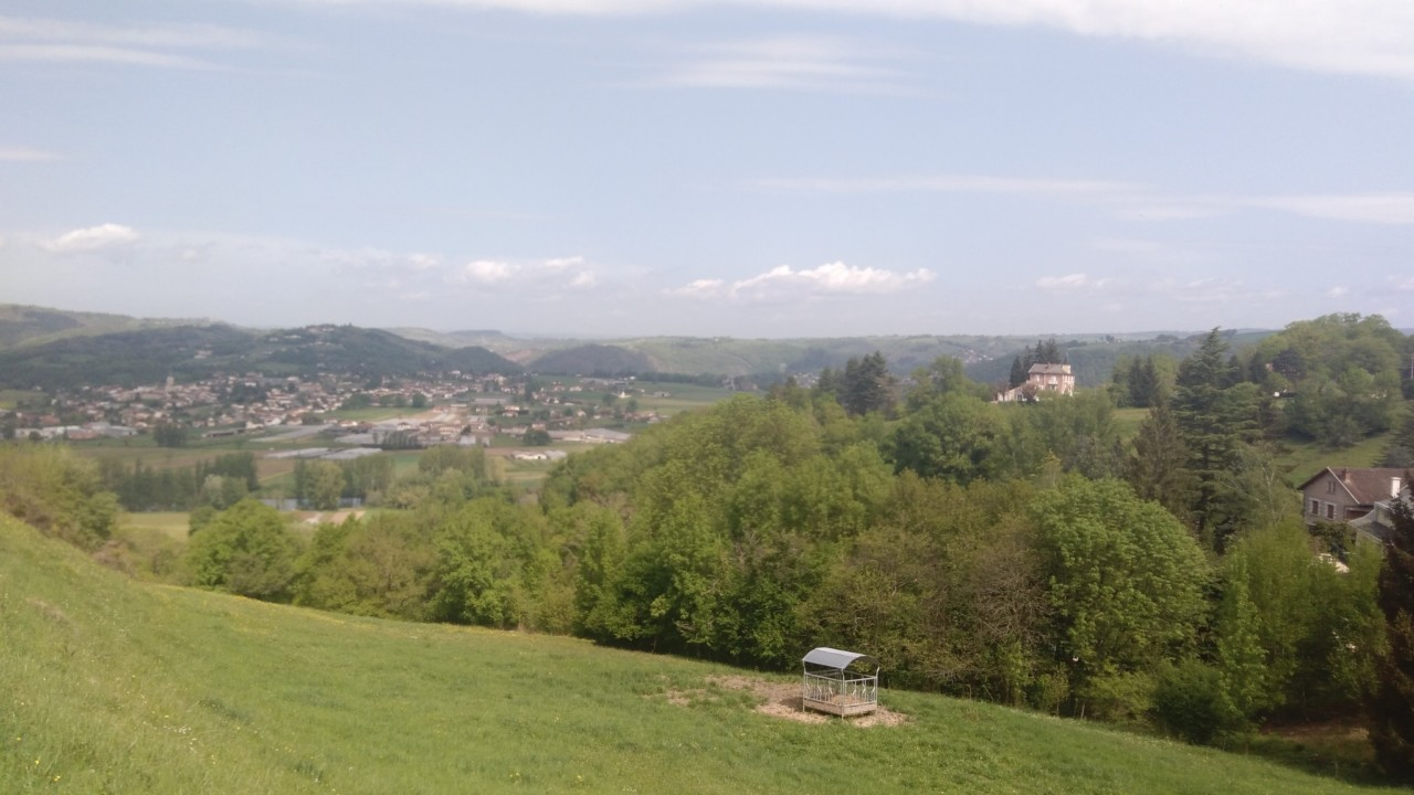 En direction d'Almond les Junies en, Aveyron