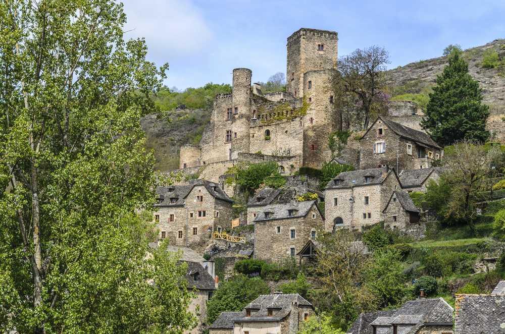 A Belcastel en Aveyron