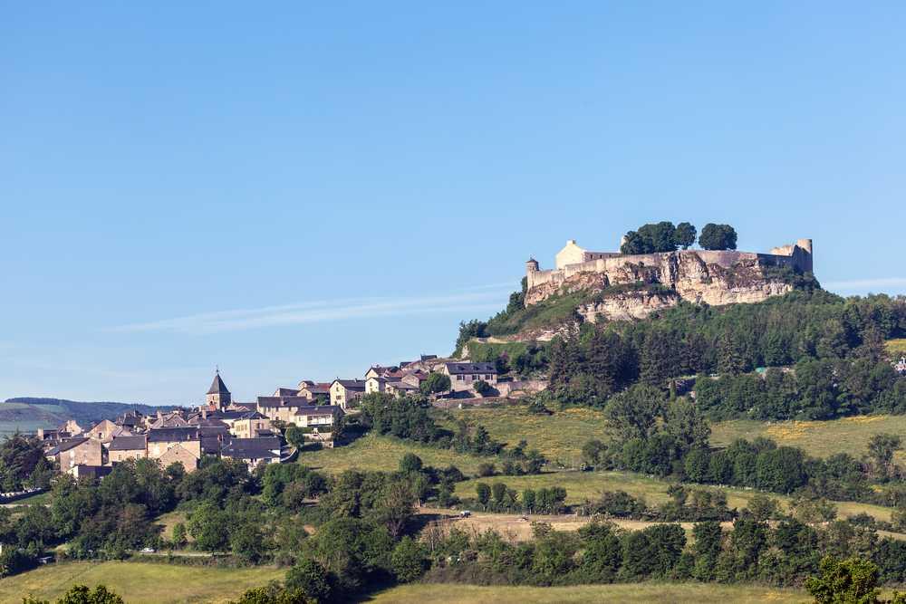A Séverac le château en Aveyron