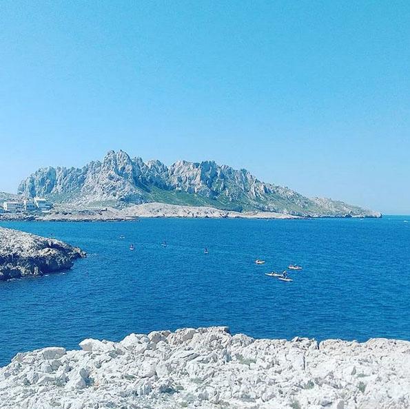 Découvrir les calanques à Marseille