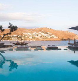 S'installer au Kivotos hôtel à Mykonos