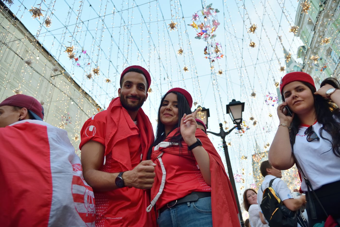 L'accueil des Tunisiens chaleureux et festif