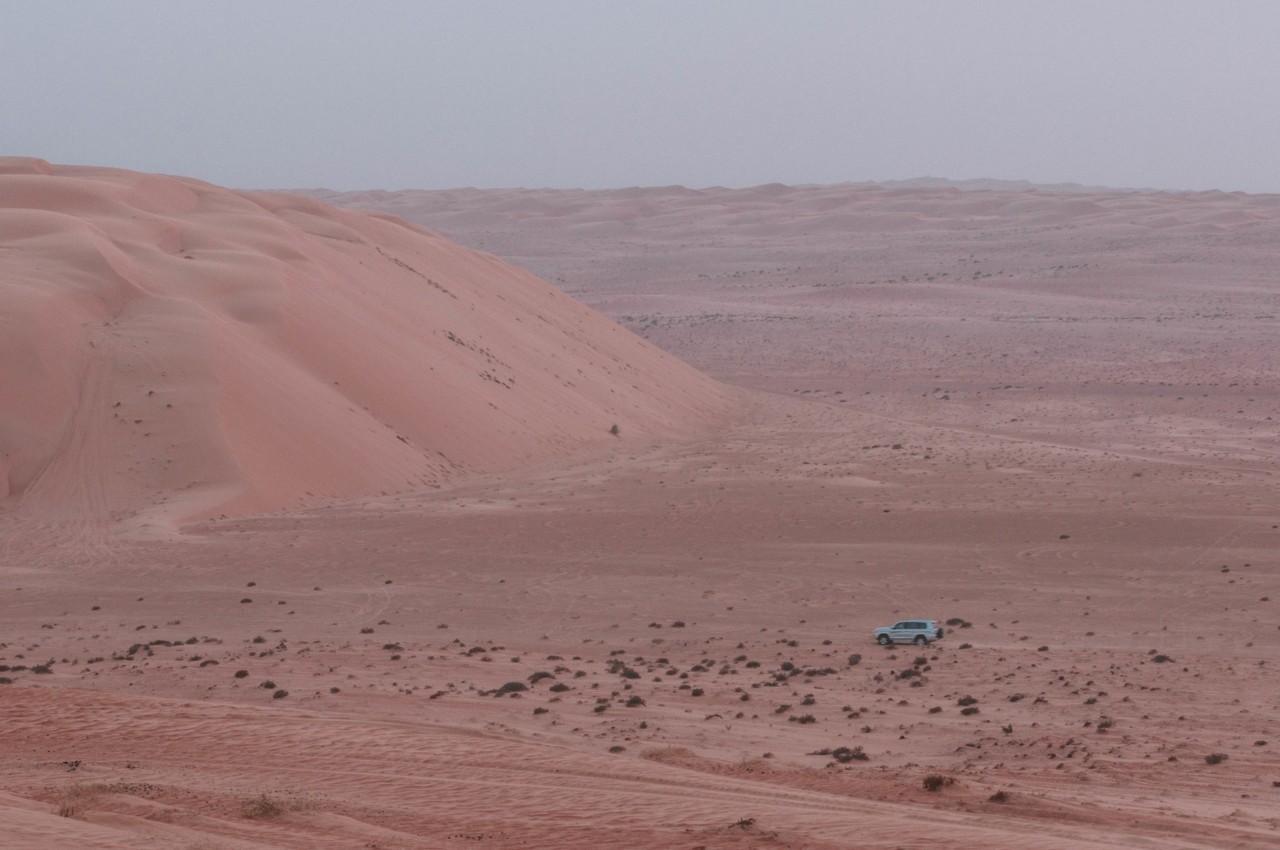 Les dunes atteignent des hauteurs de dingue à Oman