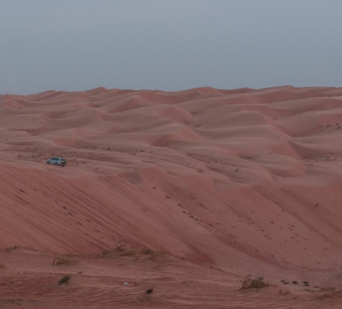 Et le désert avance
