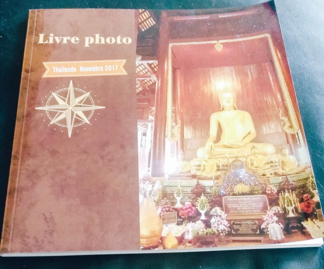 Notre livre Cewe sur notre voyage en Thaïlande
