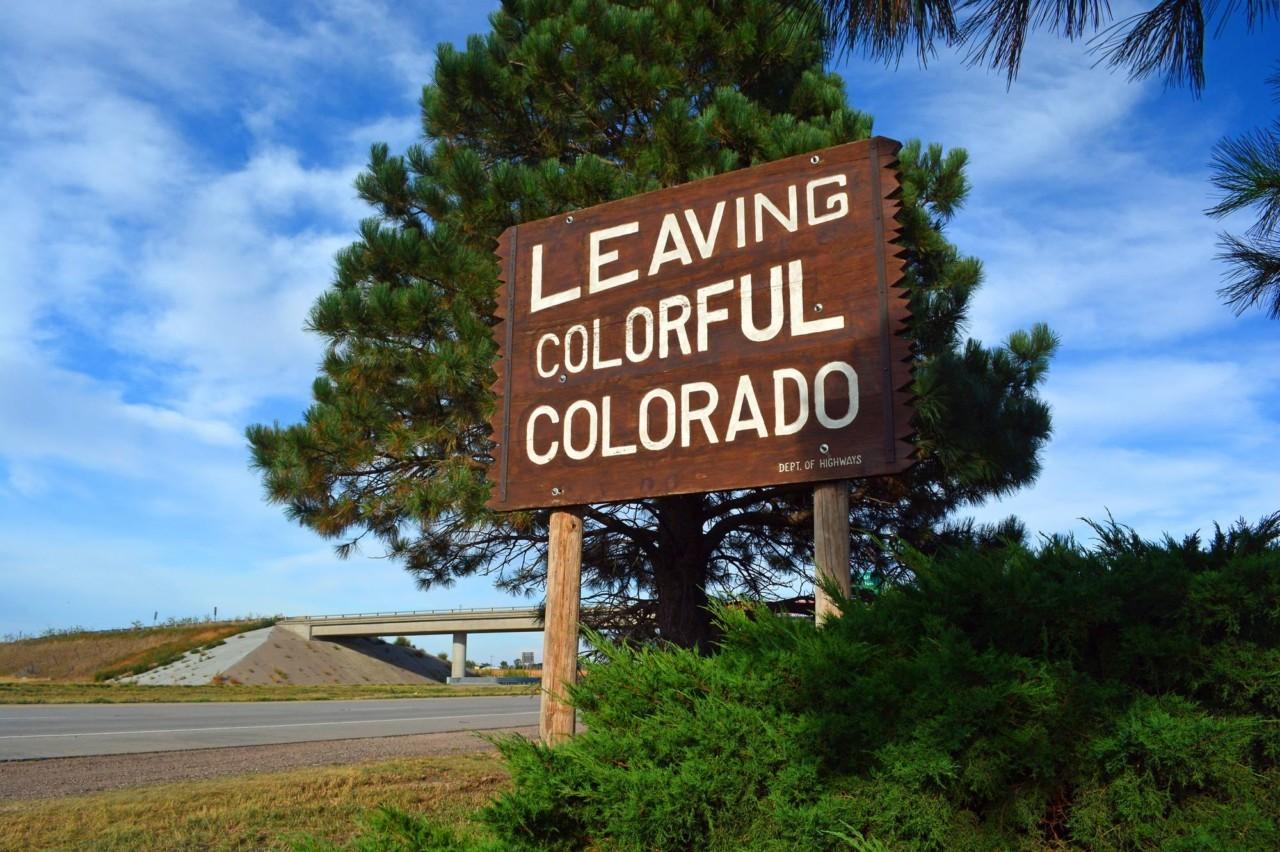 Quitter le Colorado