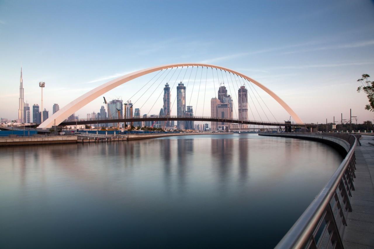 la skyline de Dubaï