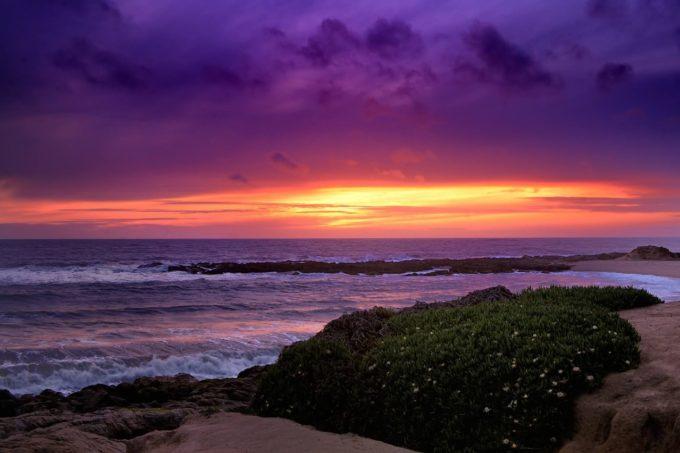 océan pacifique à Malibu