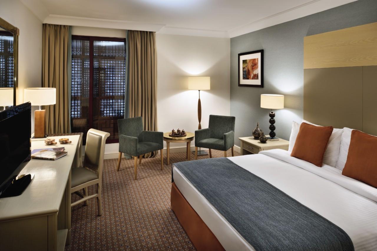 Ma chambre à l'hôtel Movenpick à Pétra