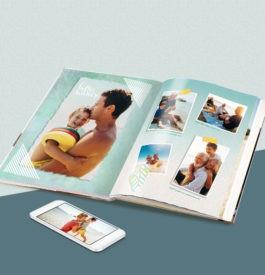 Racontez vos vacances en livre photo