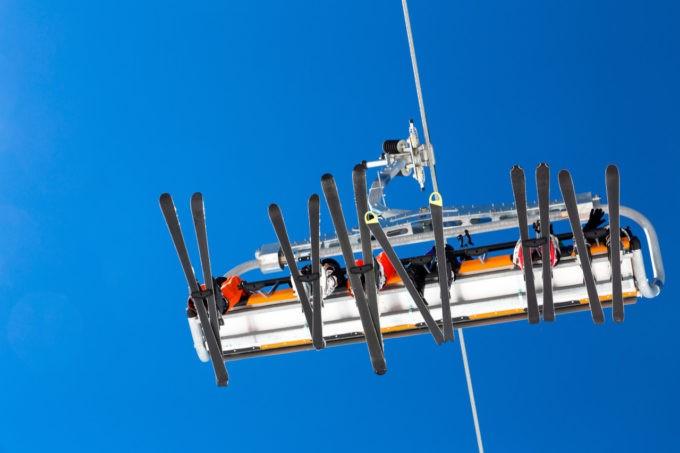 Monter vers les pistes de ski en Oisans