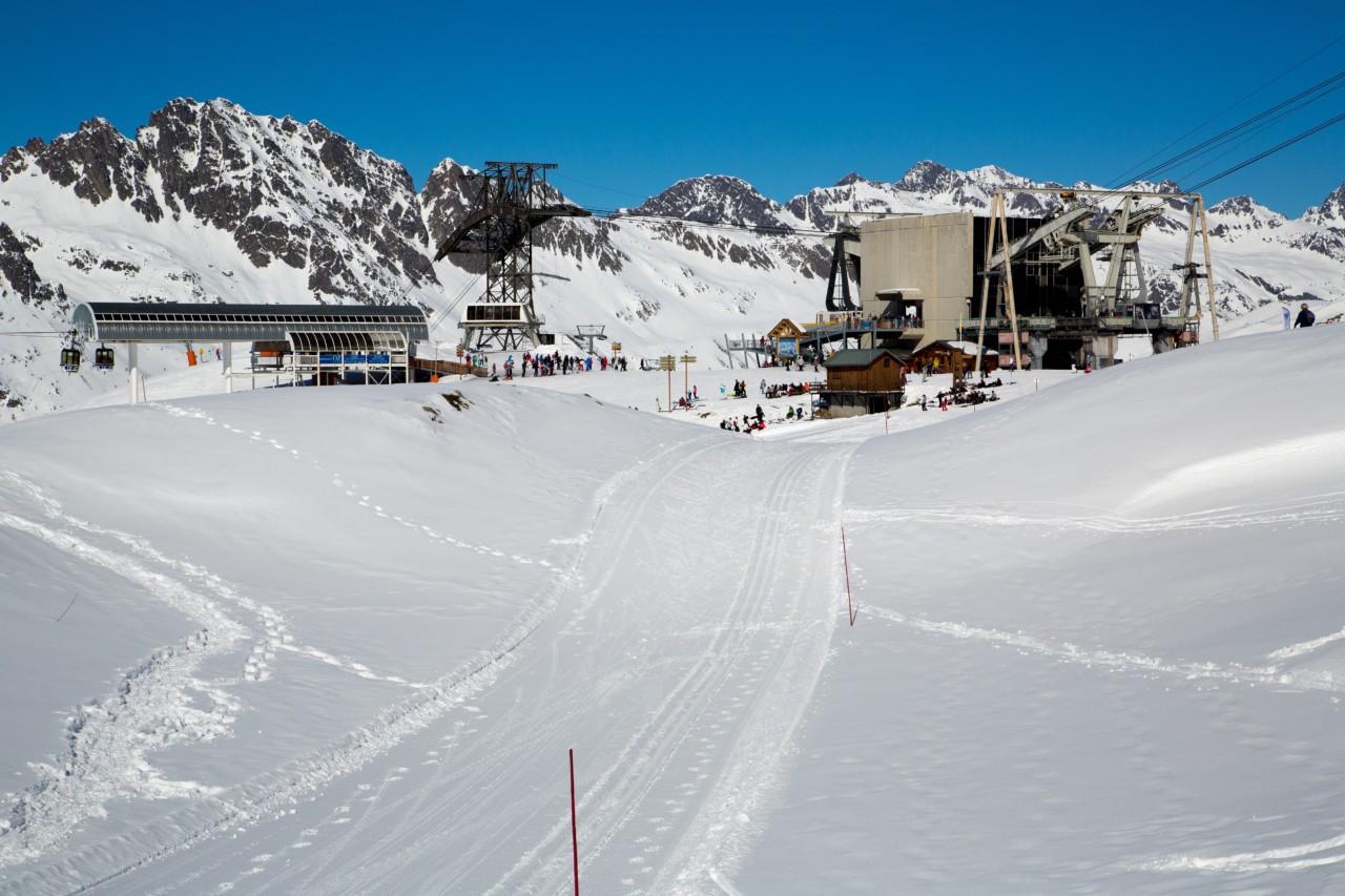 Pïste de ski à Vaujany