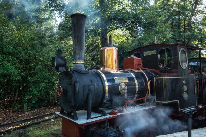 Le petit train dans le Parc Efteling