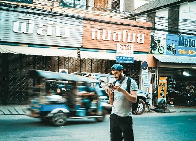 Adrian Ström en voyage en Thaïlande