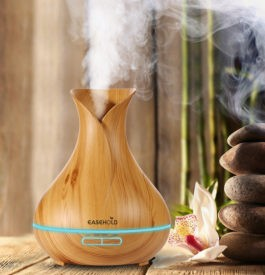 Aromathérapie diffuseur huiles essentielles
