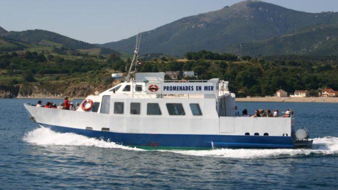 Les balades en mer de Croisières Roussillon