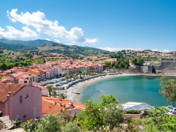 Le quartier du Mouré à Collioures