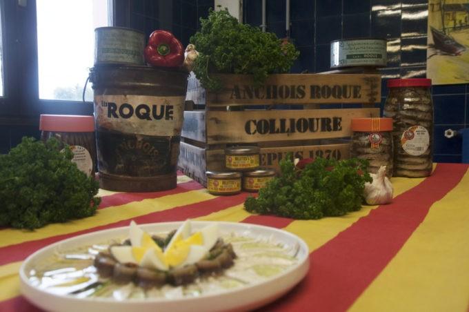 Les anchois Roque de Collioures DP: C.Caulet