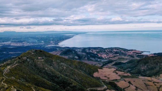 Le littoral de Collioures