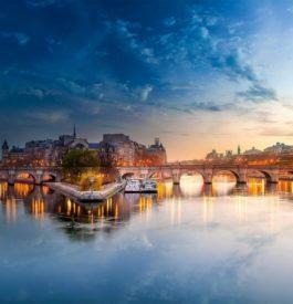 Aller manger sur la Seine