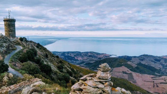 Sur la route vers Collioures