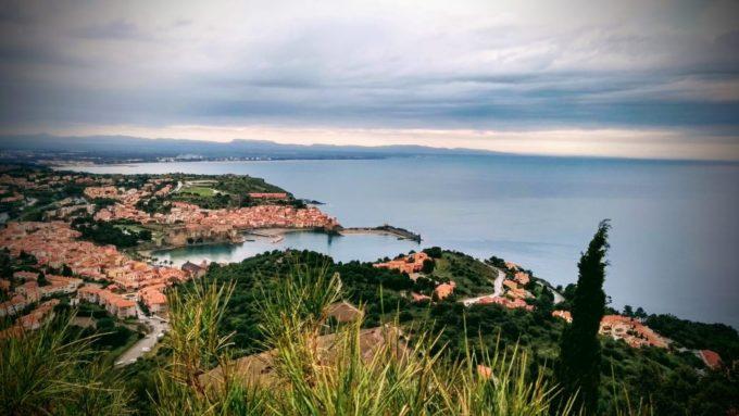 Vue sur Collioures depuis le Fort Elme