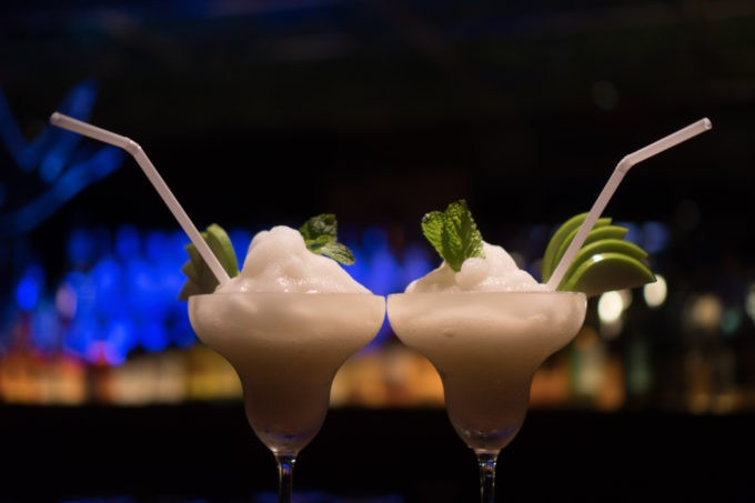 Effet visuel pour ce cocktail
