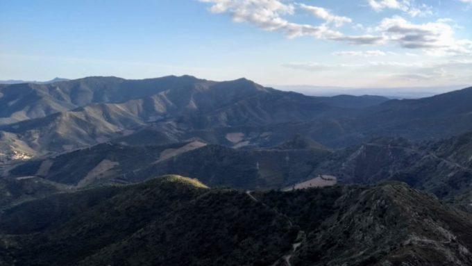 Montagnes des Pyrénées à proximité
