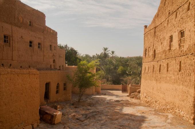Dans les ruines de Nizwa