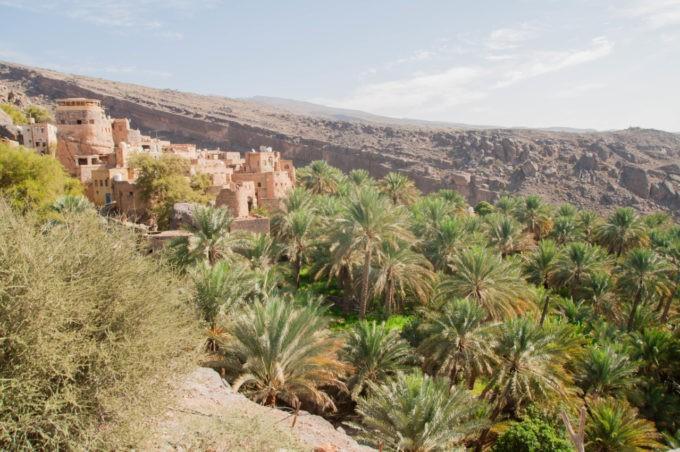 Entre pierre de montagne et palmeraie